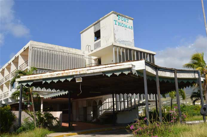 Fort thomas hotel - 托馬斯堡酒店(已荒廢的酒店)