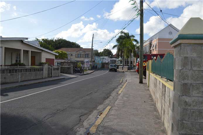 尼維斯島街景