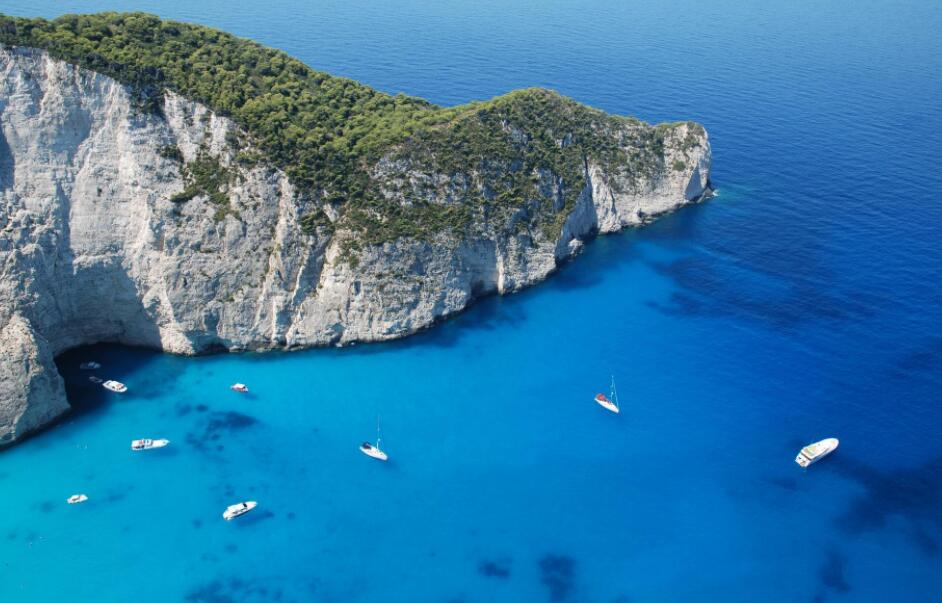 希臘海景——沉船灣